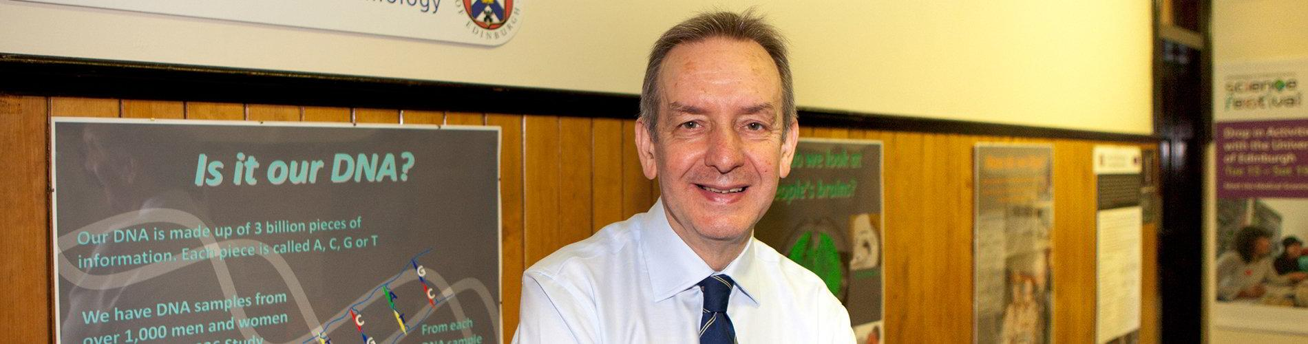Professor Ian Deary is Director of the Centre for Cognitive Ageing and Cognitive Epidemiology.